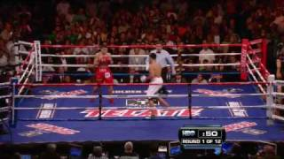 Top 5 Rounds Of 2009: Ortiz Vs. Maidana - Round 1 (hbo Boxing)