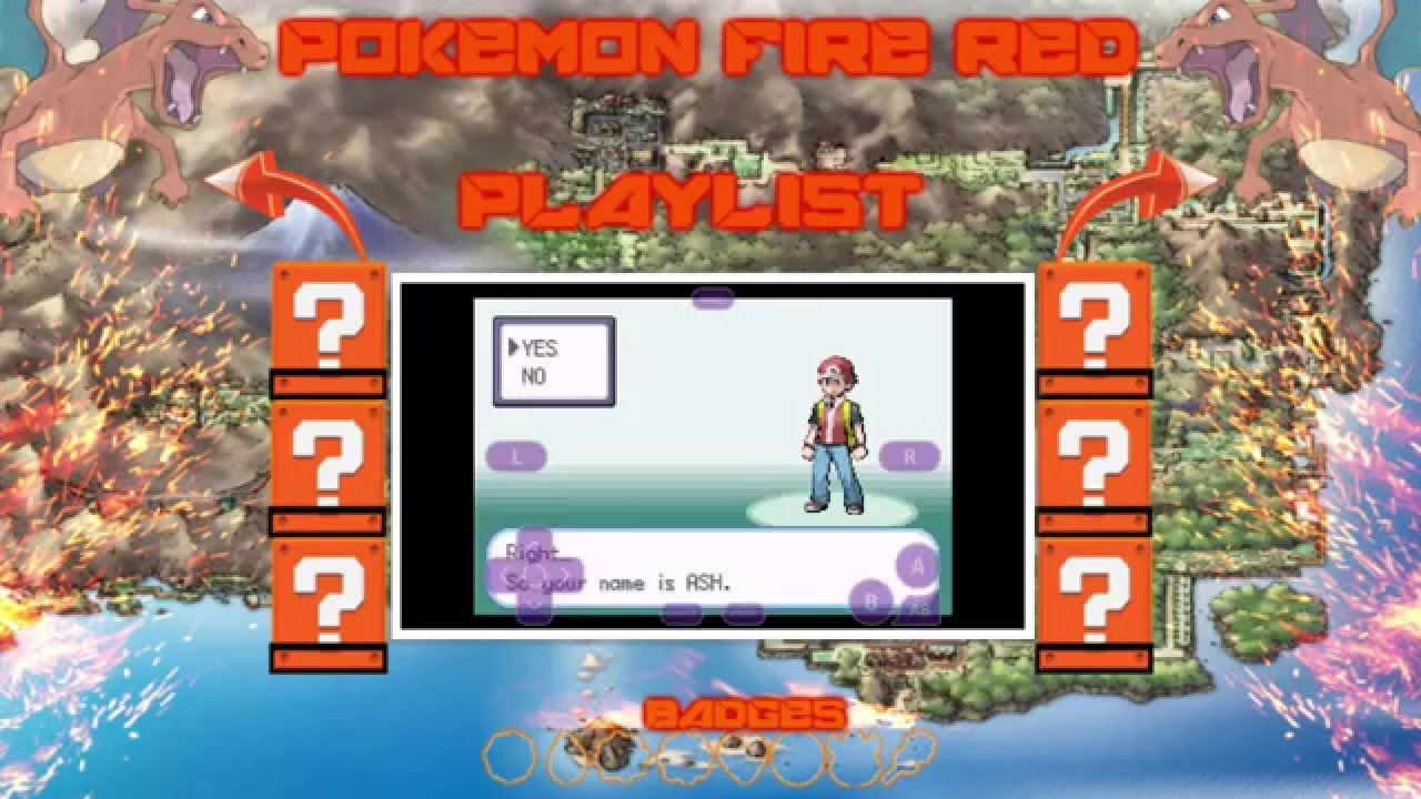 how to play pokemon fire red