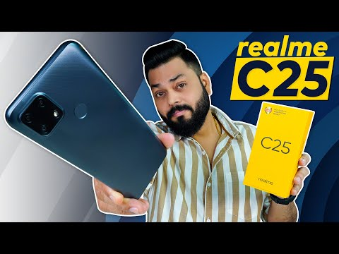 realme C25 Unboxing & First Impressions | realme C20 & C21⚡ TÜV Rheinland Certified, 6000mAh & More