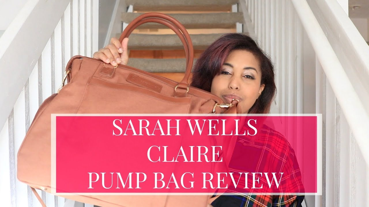 Sarah Wells Claire Pump Bag Review Youtube