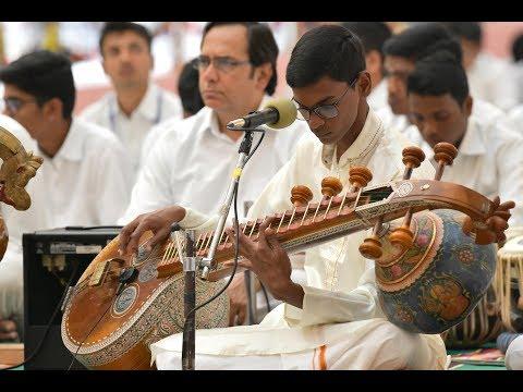 Music Program by the Students of Satya Sai Mirpuri College of Music, Prasanthi Nilayam - 16 Jan 2018