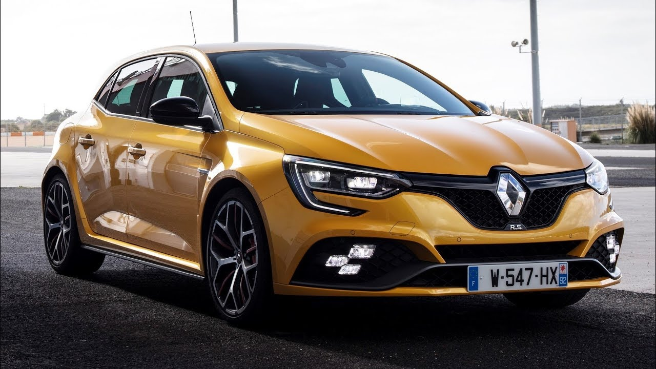 2019 Renault Megane Iv Rs Trophy Renault Megane Renault Luxury Cars