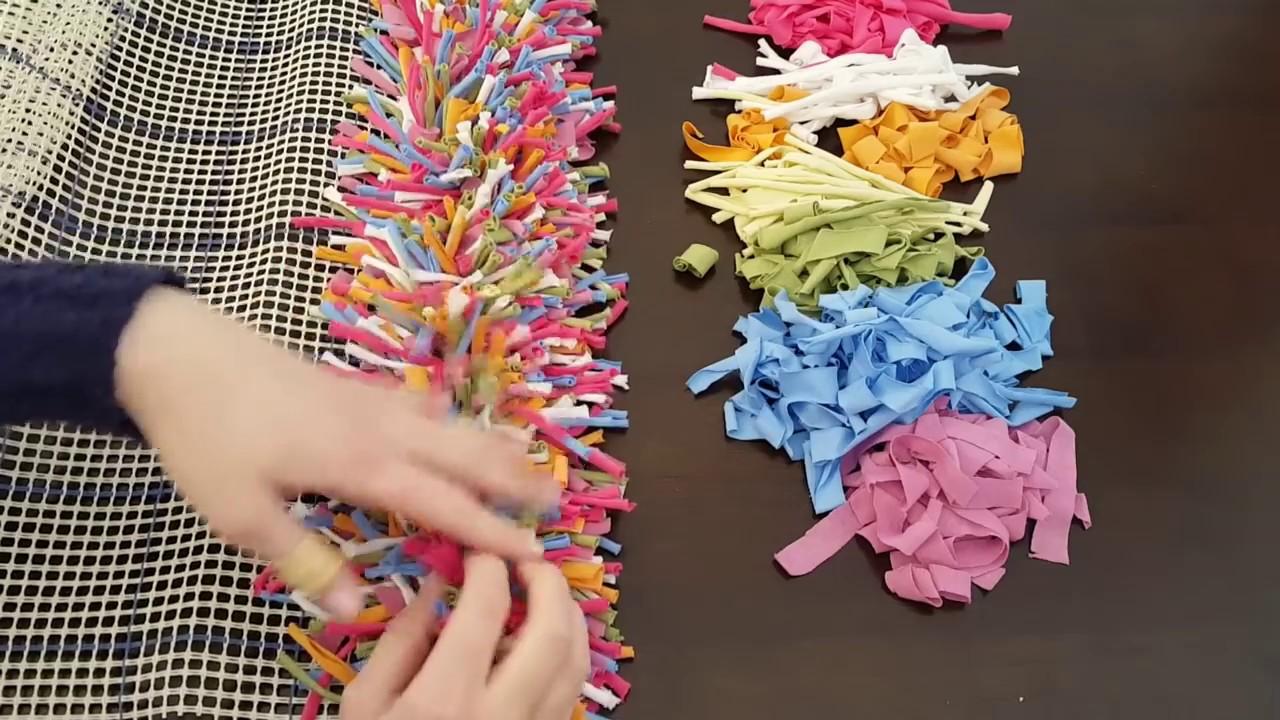 tutorial - teppich knüpfen einfach gemacht teppich selber machen