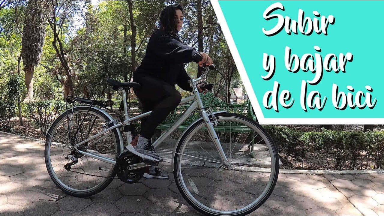 CÓMO SUBIR Y BAJAR DE LA BICI | Después del Covid viene la bici: ep.3