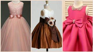 Party Wear Baby Girl Frock Designs/Baby Frock Dress Designs For Winter Season/Kids Frock Styles 2020
