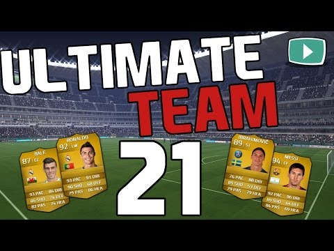 FIFA 14 Ultimate Team #21 - Neue Frisur + neues Team ! [Lets Play FIFA 14 Ultimate Team]