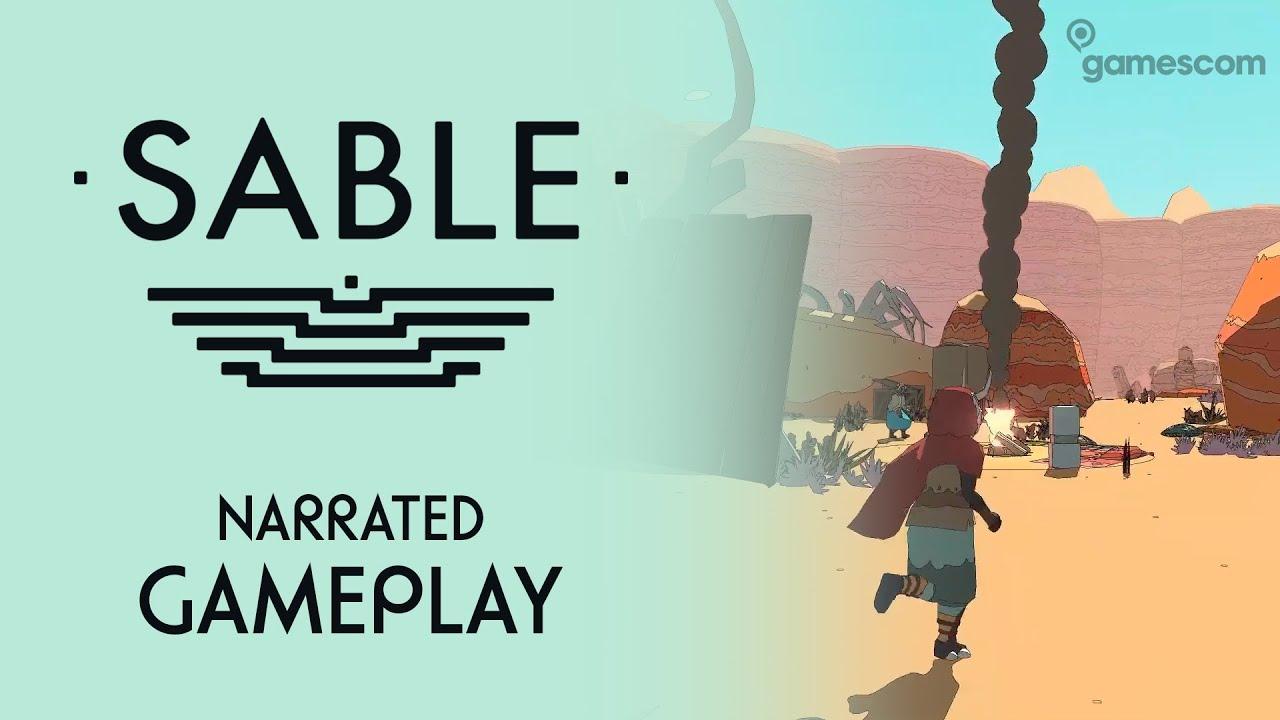 Sable - Gamescom 2020 Narrated Gameplay
