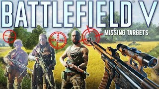 Battlefield 5 Missing The Targets