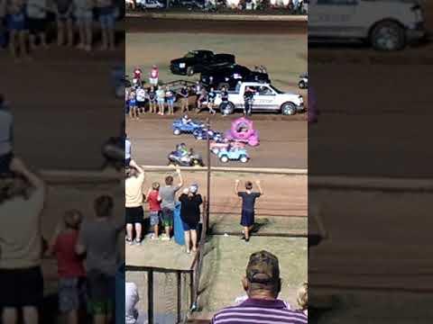 Lawton speedway kid race race