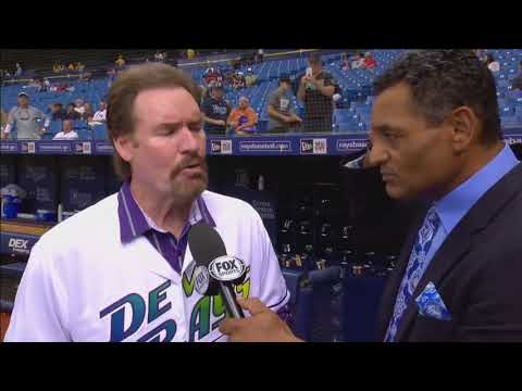 Hall of Famer Wade Boggs returns to Tropicana Field  03312018