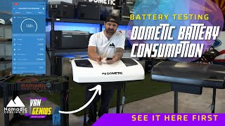 Dometic RTX 2000 Battery Consumption Test l Victron 100ah Battery l Nomadic Cooling