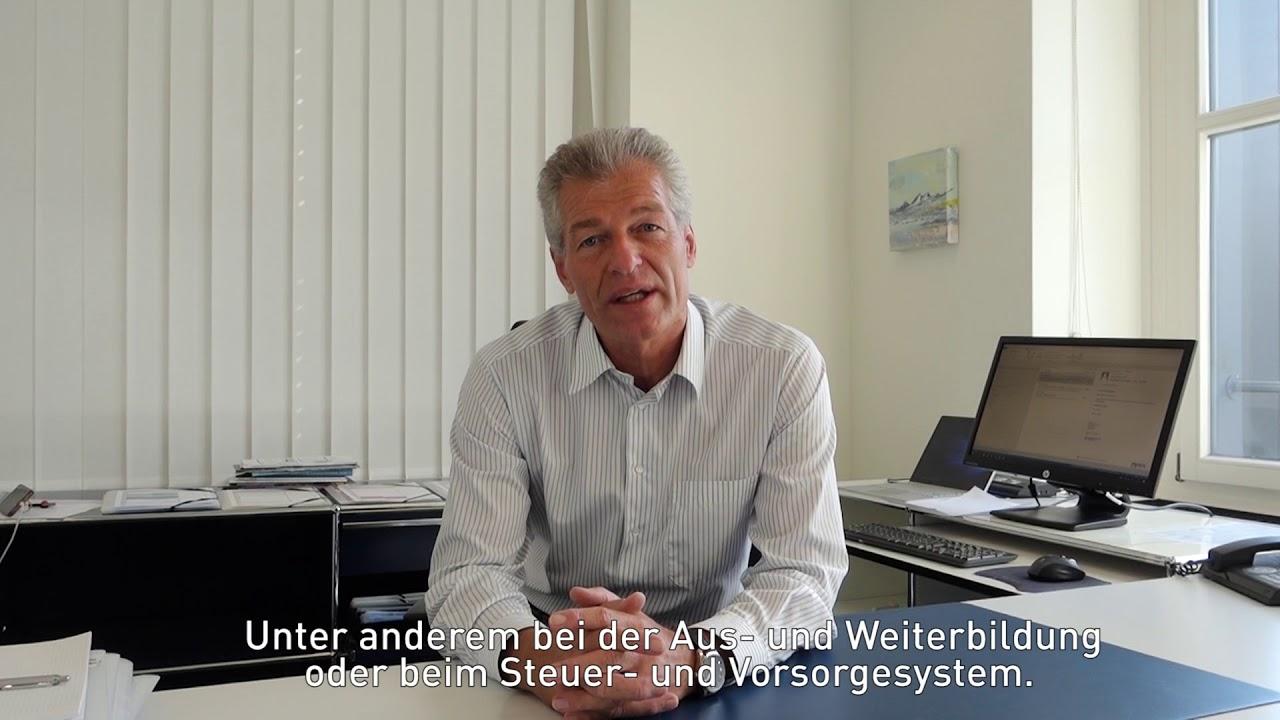 Heinz Karrer, Präsident economiesuisse, über den Digitaltag - YouTube