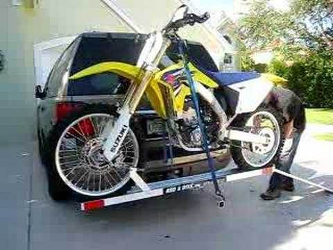 ADD-A-BIKE DIRT BIKE CARRIER - YouTube