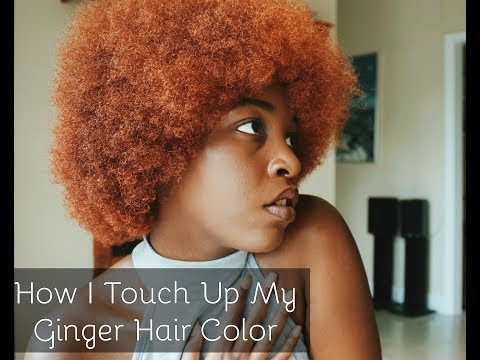 How I Touch Up My Ginger Hair Color (Ft. Lana Bear)