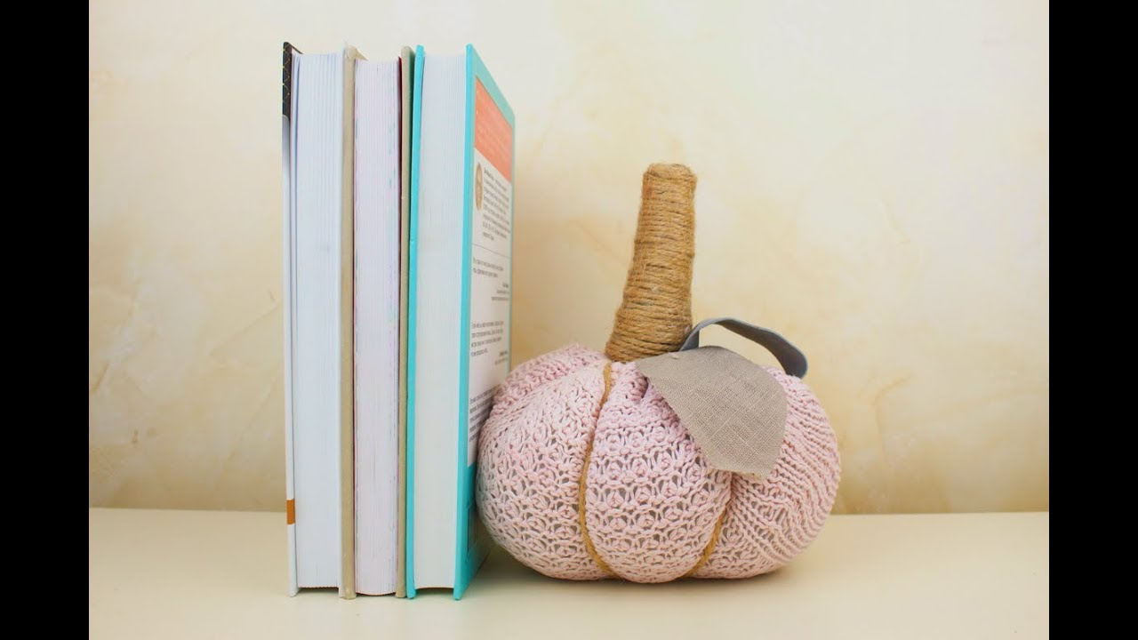 How To Make A Door Stopper.Diy Bookend Door Stopper From Old Sweater