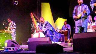TOUMANI DIABATE at  HAY FESTIVAL 2010  (2/6)