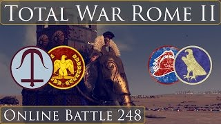 Total War Rome 2 Online Battle 248 Team 2v2