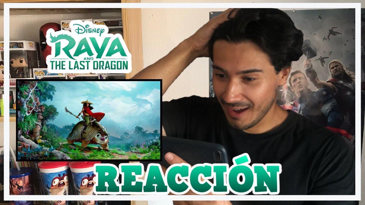 """REACCIÓN AL 1# TRAILER OFICIAL DE """"RAYA Y EL ÚLTIMO DRAGÓN / GUAYO CHANNEL"""