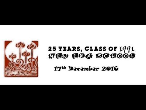 New Era School-  Class Of 1991 - Reunion Video