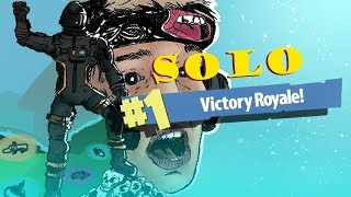Pamaj's FIRST SOLO WIN FORTNITE BATTLE ROYALE (Season 3)
