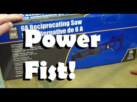 Bored of Lame Tool Reviews? Power Fist Saw. Sink your meat hooks into this Offshore Abomination!