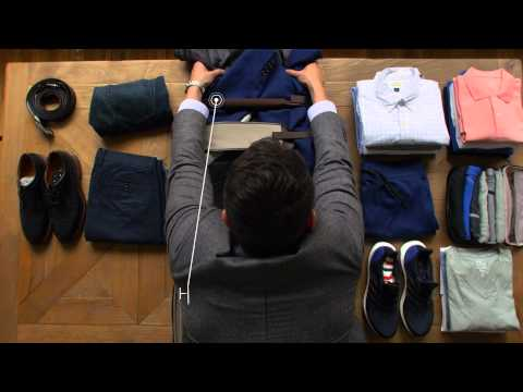 TUMI The Art Of Packing- For Men