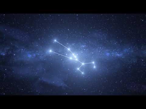 Taurus Constellation / Zodiac - Free motion graphics