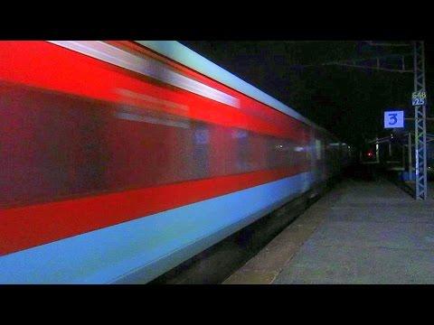 Demon At Midnight: Dangerous WAP-7Bhubaneswar RajdhaniSmashes Saidraja At High Speed!!!