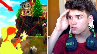 REACTION TO *MAJOR HACKERS* IN FORTNITE BATTLE ROYALE!.. 😵
