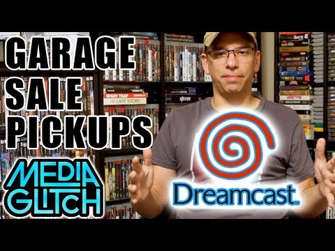 GARAGE SALE VIDEO GAME PICKUPS DREAMCAST & SEGA GOODNESS