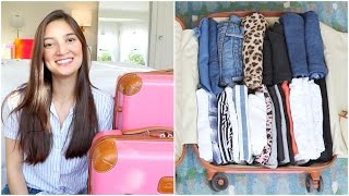 How to Pack in an Organized Way (Even if You're an Overpacker)!