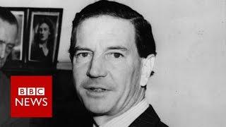 Kim Philby: Unseen footage of Soviet spy - BBC News