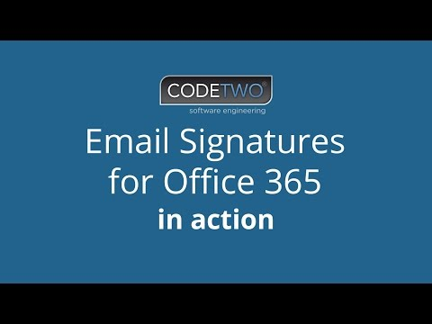 Setup email signature on office 365