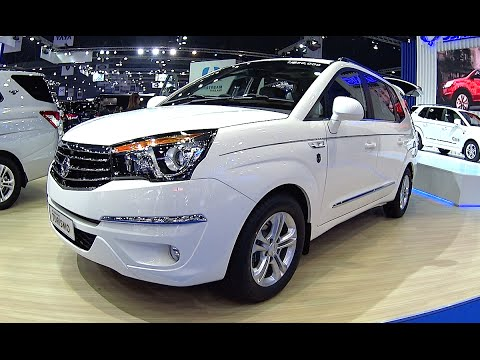 All New 2016 2017 Ssangyong Stavic Rodius Turismo Full Size Luxury