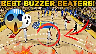 Top 10 Buzzer Beaters in NBA 2K History! #2