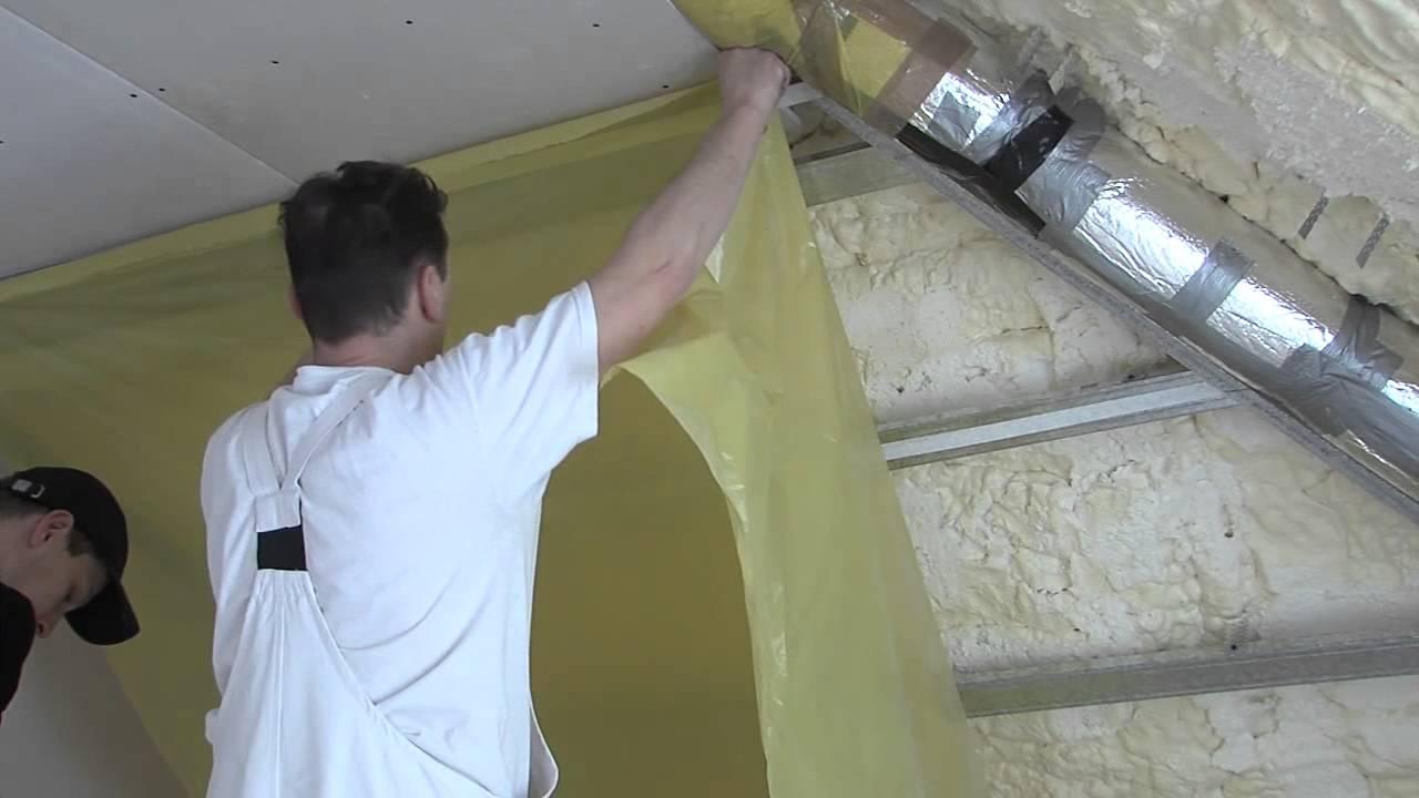 Pianka poliuretanowa ocieplenie dachu opinie
