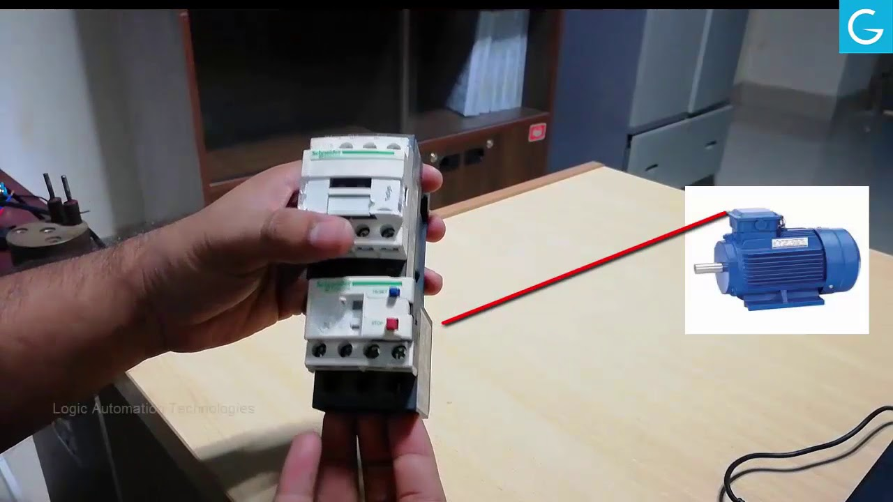 small resolution of how to connect overload relay with magnetic contactor