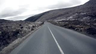 Fast road cycling descent