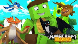 Saving ALL THE BABY DRAGONS! - Minecraft Dragons