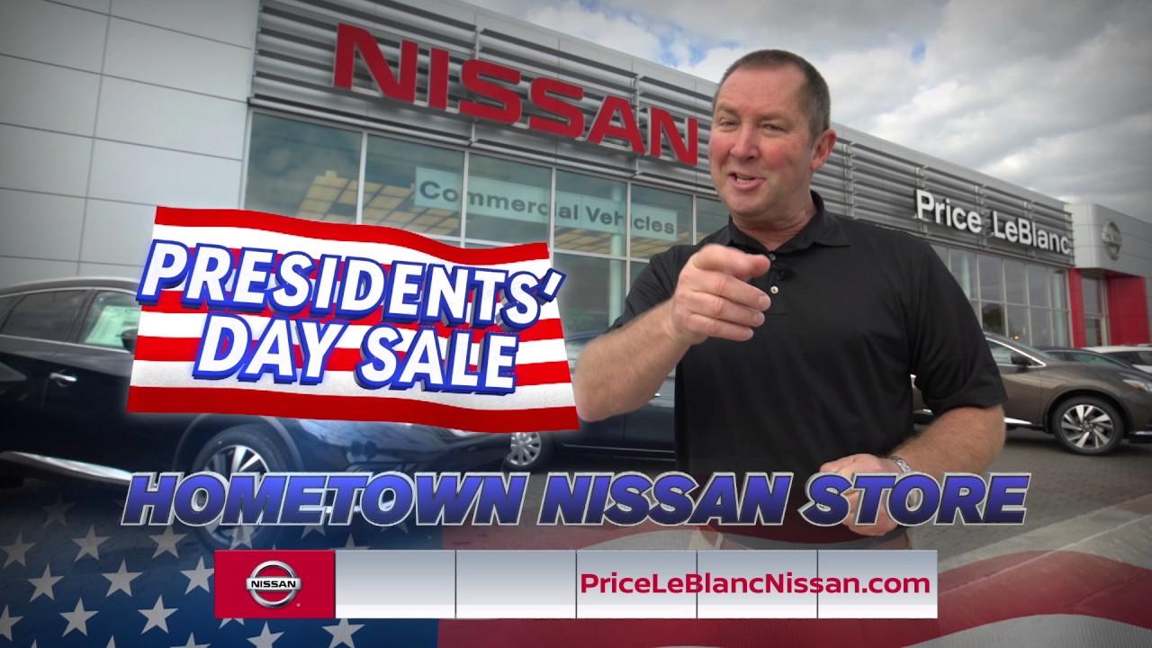 Price LeBlanc Nissan - Presidents' Day - YouTube