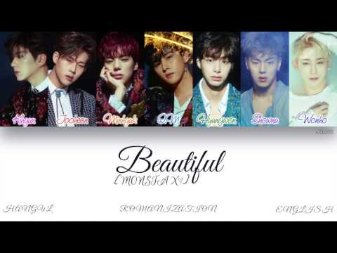 [HAN|ROM|ENG] MONSTA X (몬스타엑스) - Beautiful (아름다워) (Color Coded Lyrics)