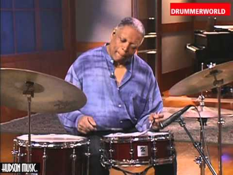 Billy Hart: Brush Technique: 3/4 Rhythm at 110 bpm