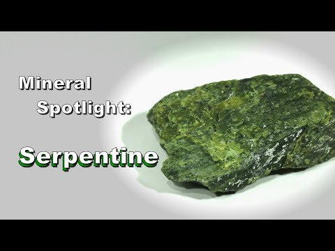 Mineral Spotlight - Serpentine