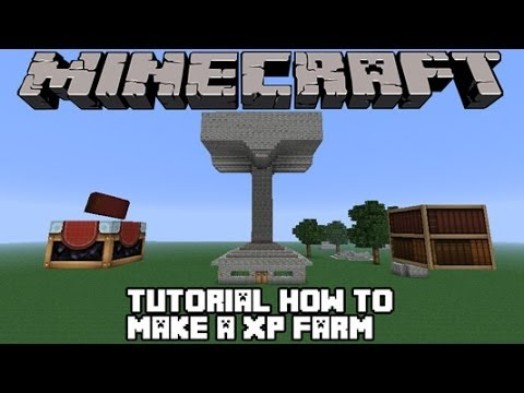 Minecraft simple xp farm without spawner