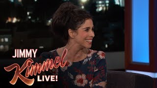 Video Sarah Silverman on Near Death Experience & Boyfriend Michael Sheen download MP3, 3GP, MP4, WEBM, AVI, FLV Agustus 2017