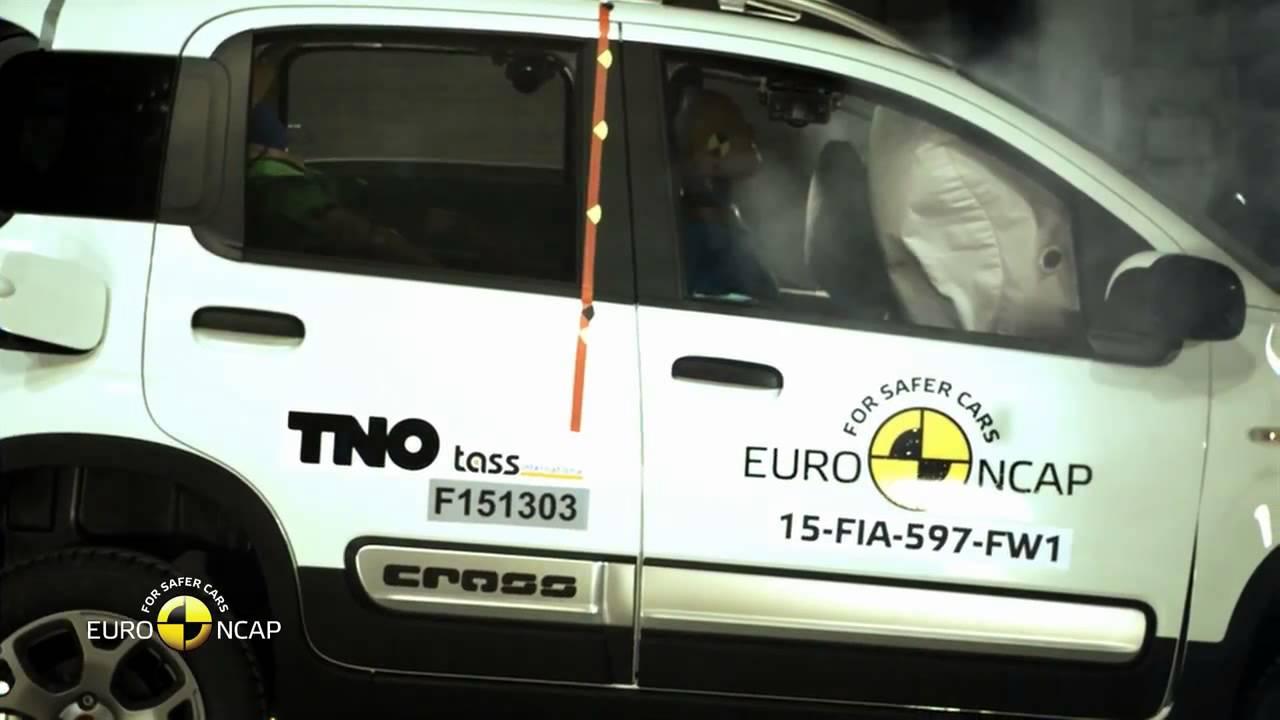 #22 Crash Test of Fiat Panda Cross 2015 Краш тест Фиат Панда Крос 2015