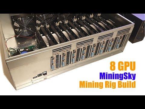 Building A 8 GPU Mining Box Rig - MiningSky & RX560's