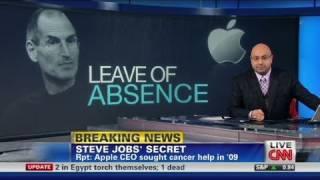 CNN: Steve Jobs leave of absence