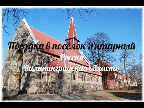 Поездка в посёлок Янтарный. Калининградская область