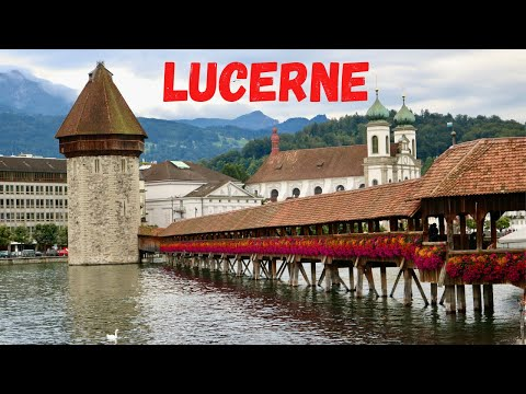 Lucerne - Luzern| Switzerland | Malayalam Travel Vlog | English Subtitles